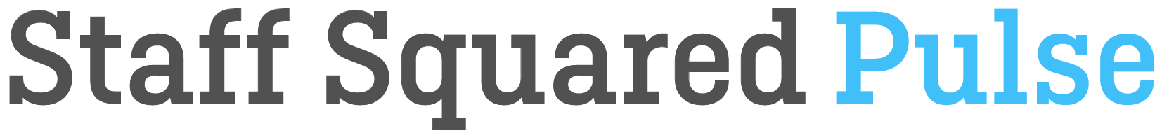 Staff Squared Pulse Logotype