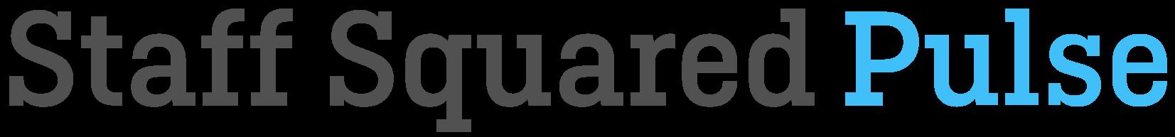 Staff Squared Pulse Logotype