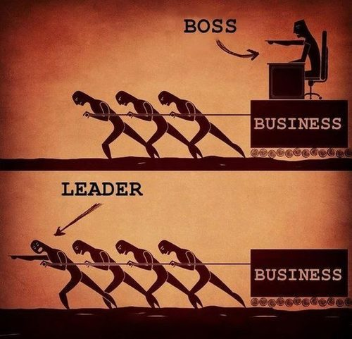The Difference Between a Boss and a Leader image