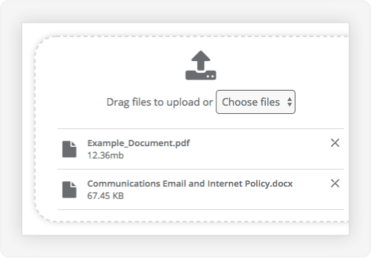 Image showing how to upload larger files