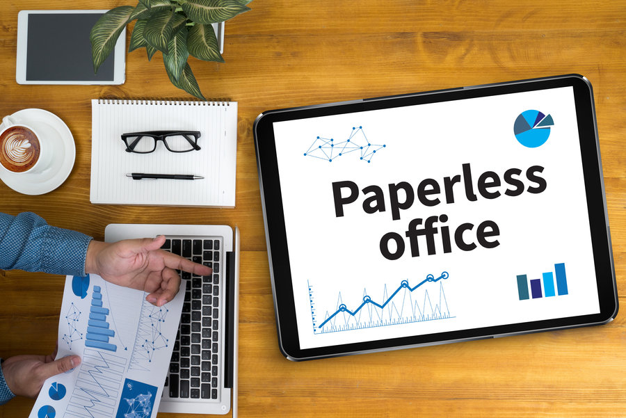 Going Paperless - What it Means for your Business image