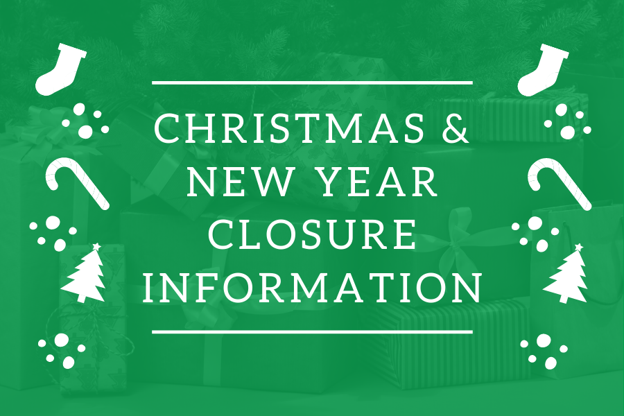 Christmas and New Year Closure Notice image