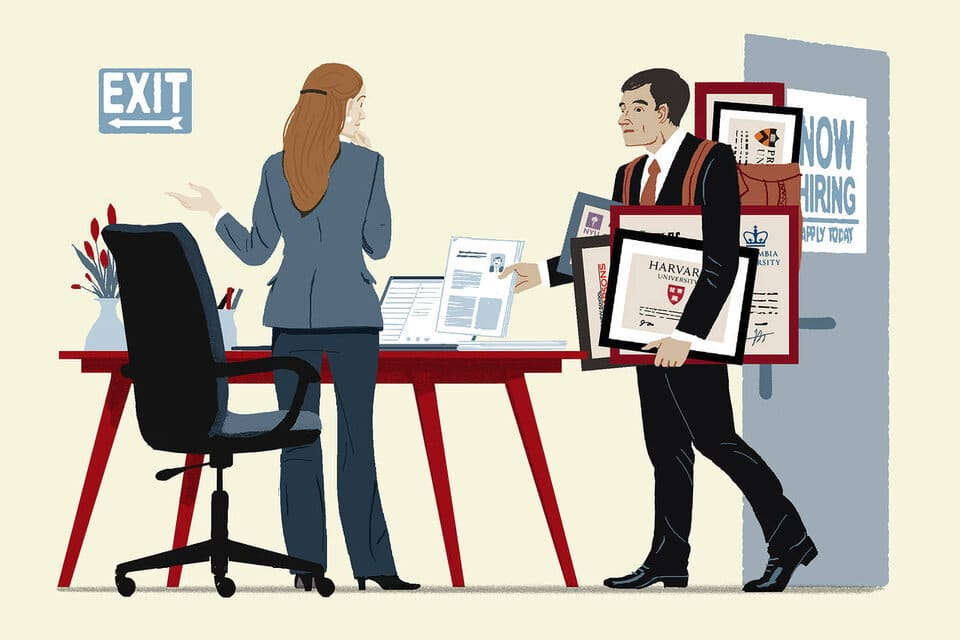 What to do if you're 'Overqualified' for a Job image